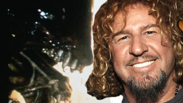 Van Halen's Sammy Hagar was abducted by Aliens