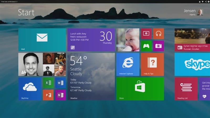 All the New Stuff in Windows 8.1