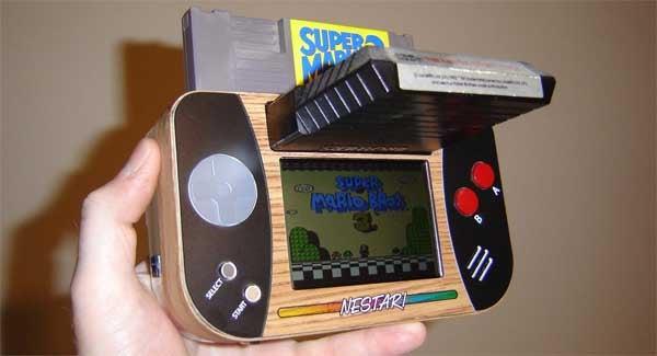 Ben Heck Stuffs an NES and an Atari Into a Handheld