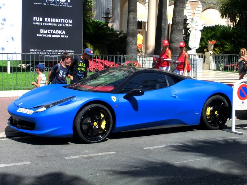 Blue 458s are the best 458s!