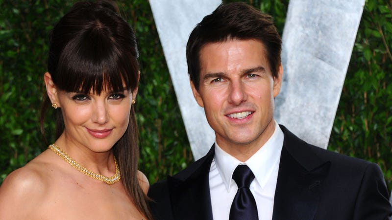 Tom Cruise, Katie Holmes Divorcing Because They Couldn't Fake Being In Love Forever and Plus She's Not a Dude