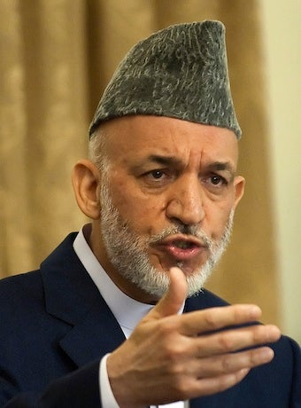 Afghan President Hamid Karzai Is Not Manic-Depressive