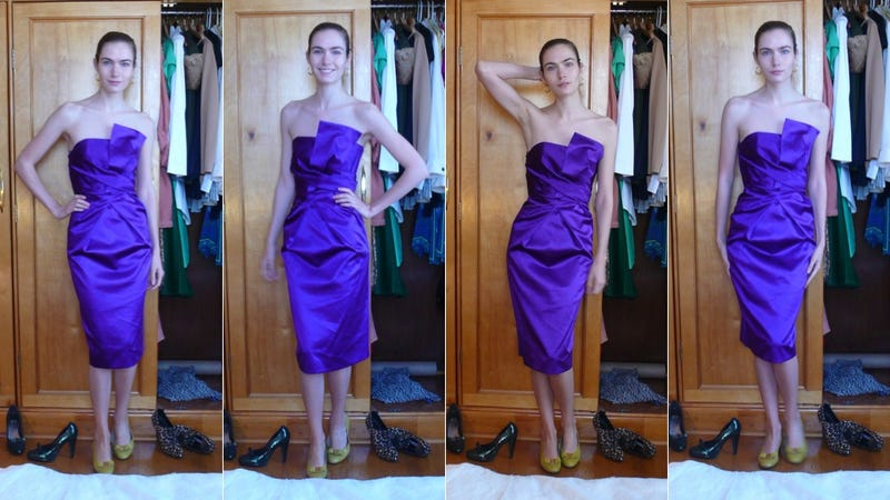 How to Keep Any Strapless Dress From Falling Down