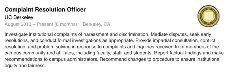 UC Berkeley's Sexual Assault Resolution Process Is Shockingly Inept