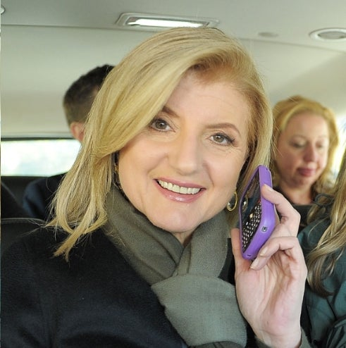 Arianna Huffington Could Not Care Less About Airplane Rules