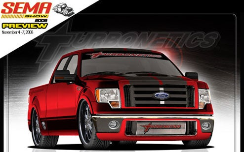 Turbonetics F-150 SEMA Special Does Its Best Lightning Impression
