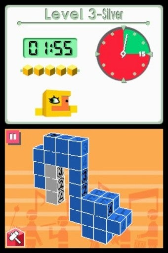 I Am A Master of Picross 3D, At Least The Tutorial Part