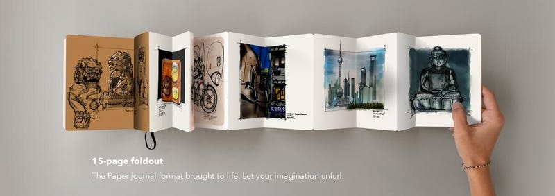 Get an Adorable Book of Your Digital Sketches Delivered to Your Door