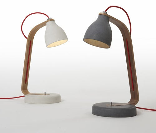 Concrete Lamp: Maybe It's Time For a Stronger Desk