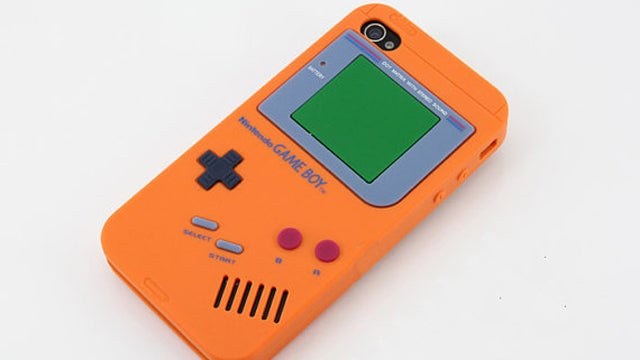 Quick! Buy This Dude's Game Boy iPhone 4 Case Before Nintendo Slaps Him with a C & D