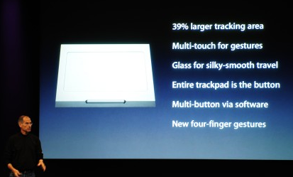 New MacBooks Stronger, Drop Mouse Buttons, Add Multi-Touch