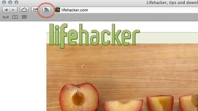 Subscribe to Feed Extension Brings Back Safari's RSS Button