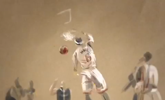 These Animated NBA Playoff Highlights Are Cool As Hell