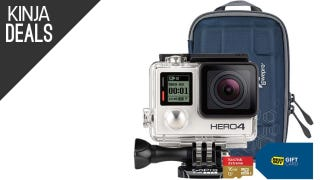 This GoPro Hero4 Silver Comes with a $70 Gift Card and Bonus Items