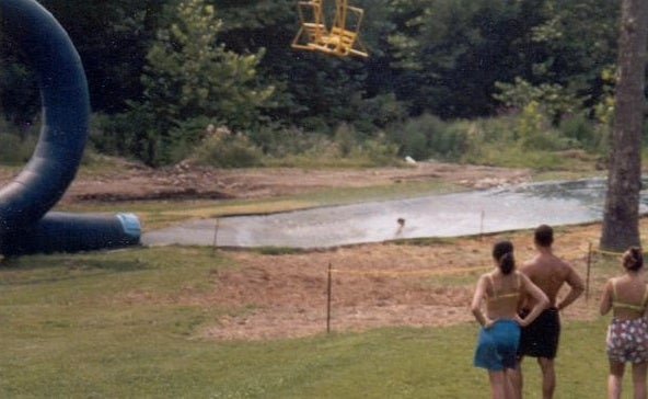 Behold the water slide so dangerous it was shut down immediately