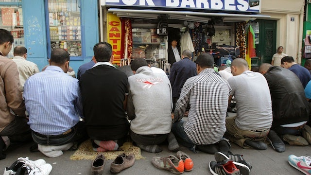 Paris Bans Praying In Streets
