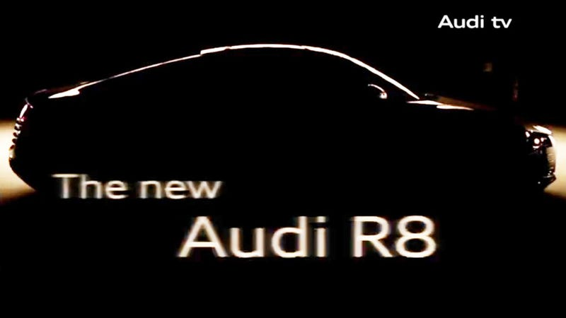 2014 Audi R8 Gets Funky New Headlights
