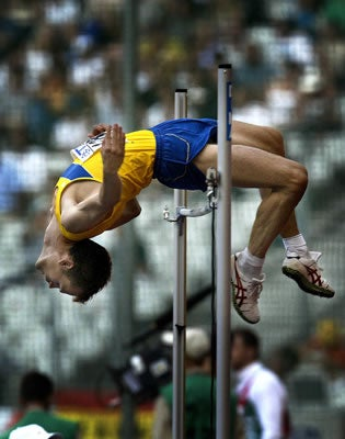 High Jumping and Vodka Don't Mix Well