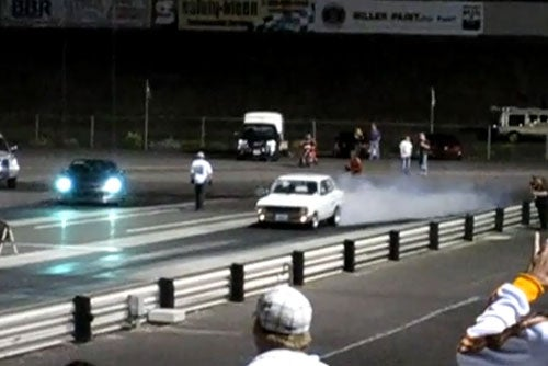 Electric '72 Datsun Smokes Nissan GT-R With 10-Second Quarter-Mile
