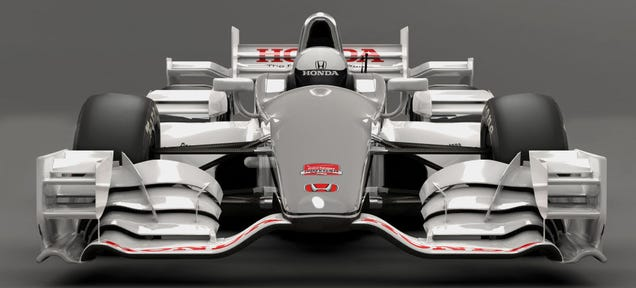 Honda's IndyCar Aero Kit Has Wings On Wings On Wings (On Wings)
