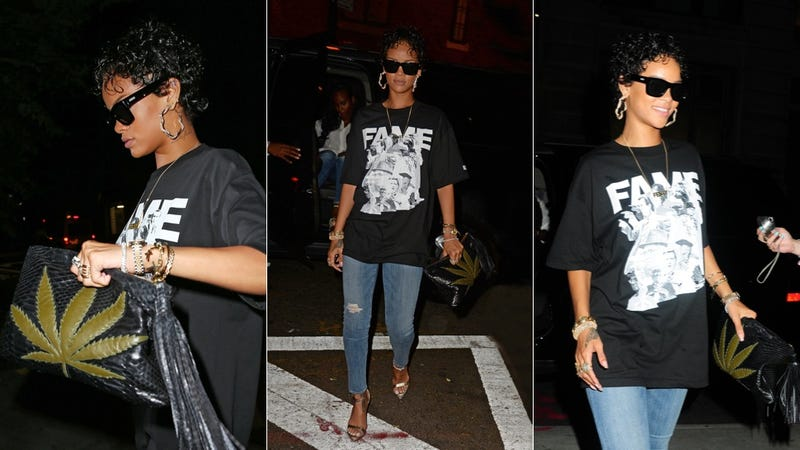 Rihanna's Clutch Is So 'High' Fashion