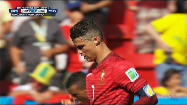 Cristiano Ronaldo's Goal Makes It 2-1 Portugal