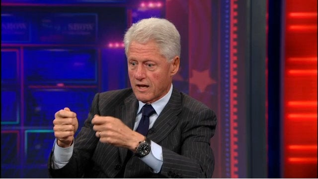 This Is Bill Clinton's I'm-Playing-A-Video-Game Face