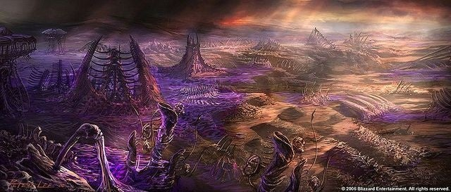 What if the zerg creep from Starcraft existed in real life?