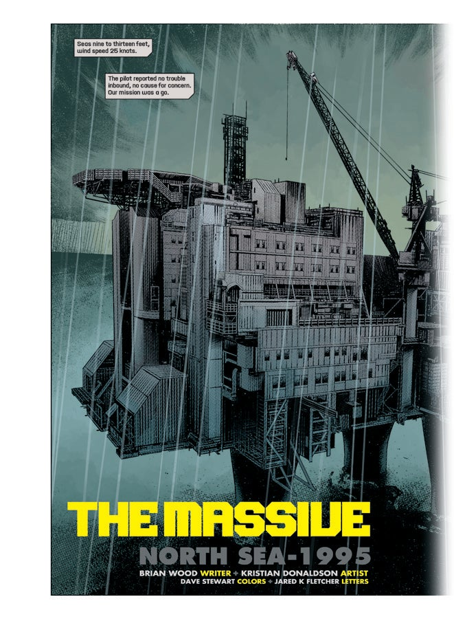 Read the first chapter of The Massive, Brian Wood's new environmental apocalypse comic!
