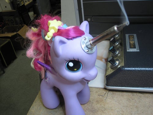 My Little Soldering Unicorn