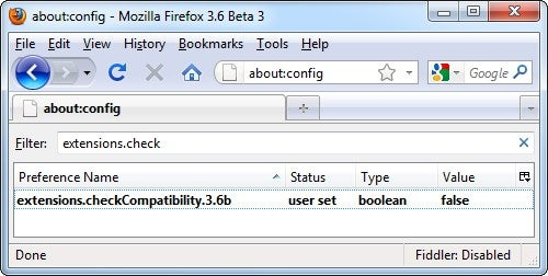 Make Your Extensions Work with Firefox 3.6