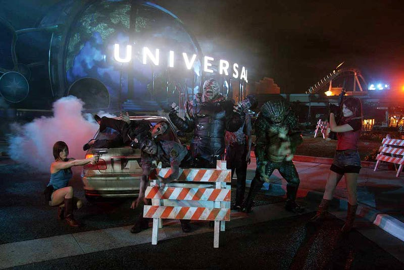 Resident Evil's Theme Park Attraction Looks Surprisingly Awesome
