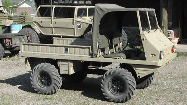 1962 Steyr Puch Haflinger is weird military truck fun in a ...