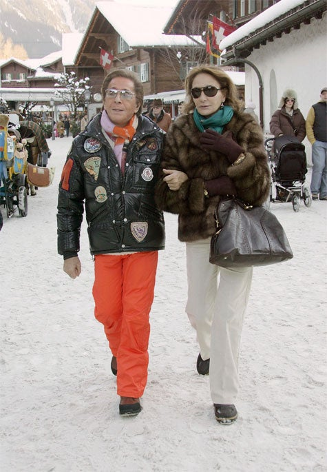 Valentino: Full Of Flare When Skiing On Christmas