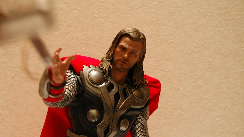 You're Not Worthy of this Avengers Thor Figurine