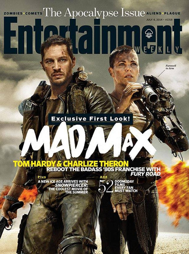 This is Tom Hardy as Mad Max