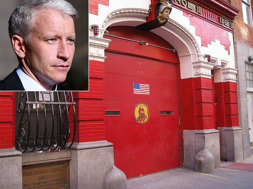 Fire Breaks Out Next Door to Anderson Cooper's Firehouse