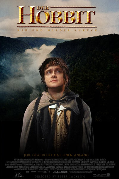 Peter Jackson announces The Hobbit's cast, including Martin Freeman as Bilbo!