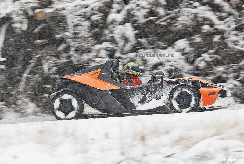 Track-Ready KTM X-Bow Takes To Snow Like Duck To Water