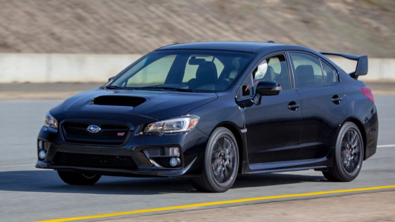 2015 Subaru WRX STI: The Big Winged Rude Blue Rally Machine You Deserve