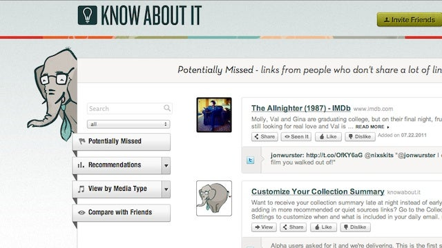 KnowAbout.it Captures Missed Social Media Links