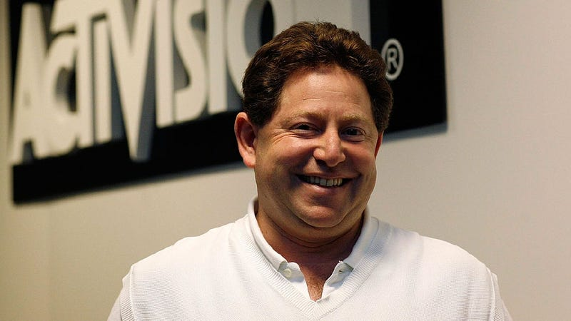 Please Quit Photoshopping Horns Onto Bobby Kotick. It's Bad for His Dating Life.