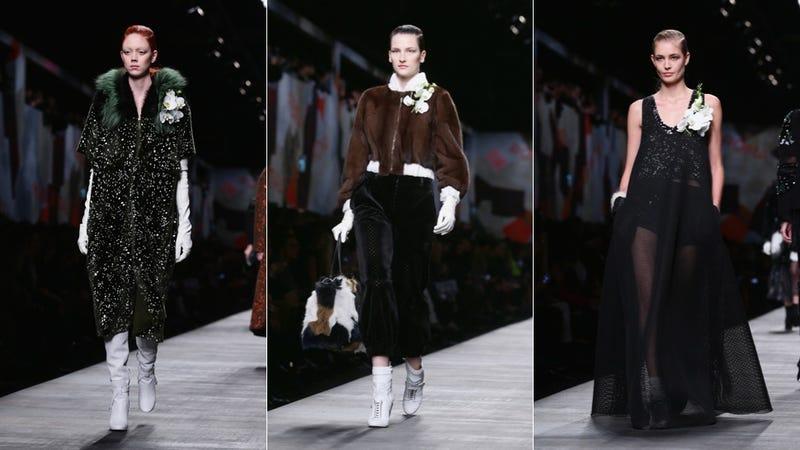 Fendi, for the 1920s Fur-Trapper's Daughter Slash Debutante in You