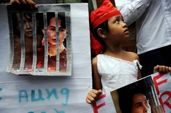 "Leaders Speak Out Against The ""Sham"" Trial Of Aung San Suu Kyi"
