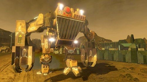 Red Faction Gets A Vehicle Combat Game