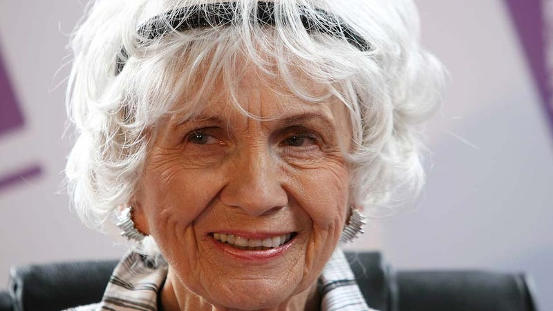 Alice Munro Is Too Sick to Accept Her Nobel Prize in Person