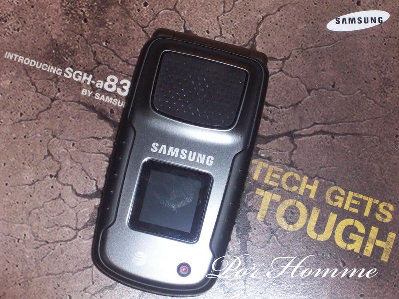 Samsung A837 Mil-Spec Cellphone Has a Tough Box Too