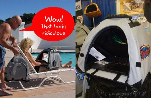 LapDome: A Friggin' Tent For Your Laptop...Seriously