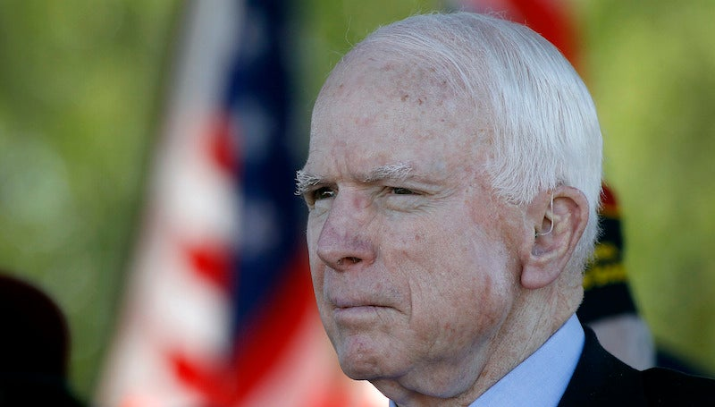 "John McCain Says Obama Is ""Directly Responsible"" For Pulse Shooting"