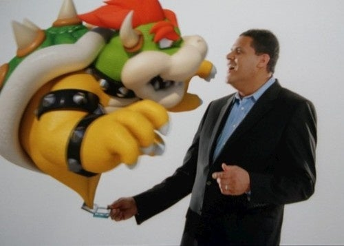 Reggie To Play Donkey Kong With Jimmy